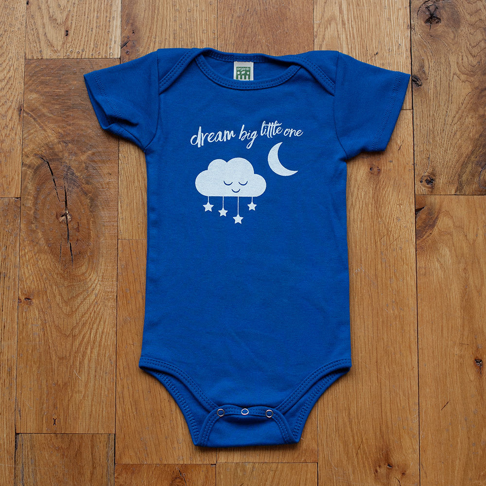 Dream Big Little One Baby Bodysuit - Sweetpea and Co.