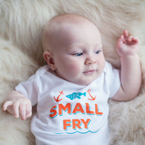 Organic Small Fry Bodysuit - Sweetpea and Co. - 3