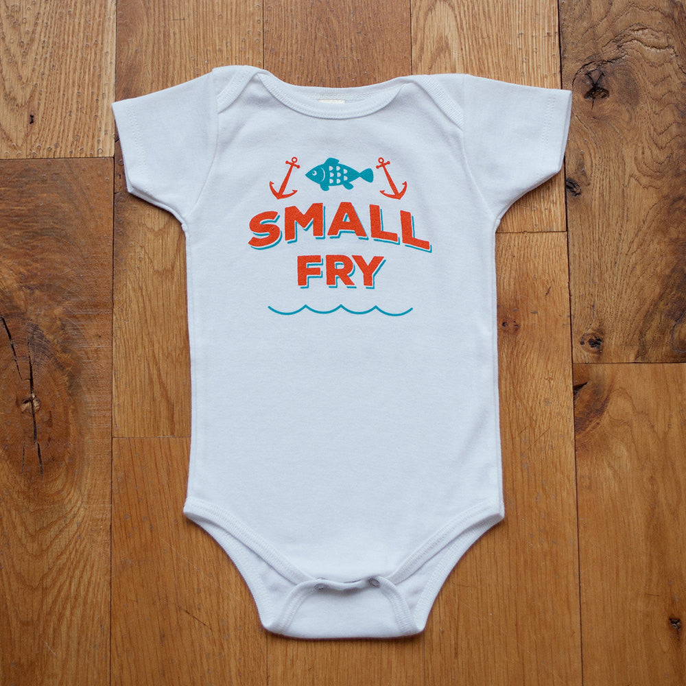 Organic Small Fry Bodysuit - Sweetpea and Co.