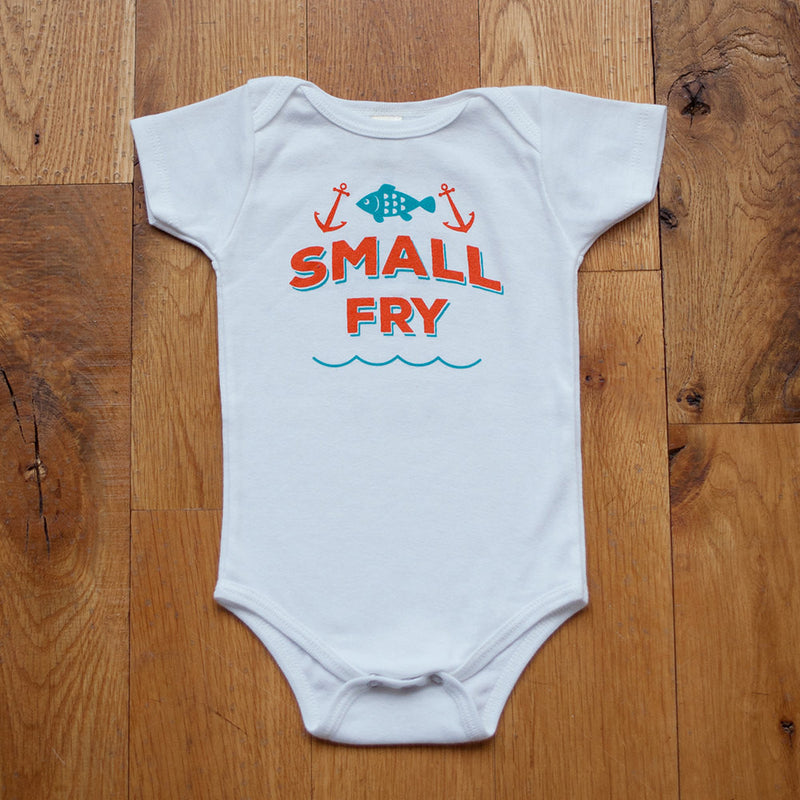 Sale - Organic Small Fry Bodysuit - Sweetpea and Co.