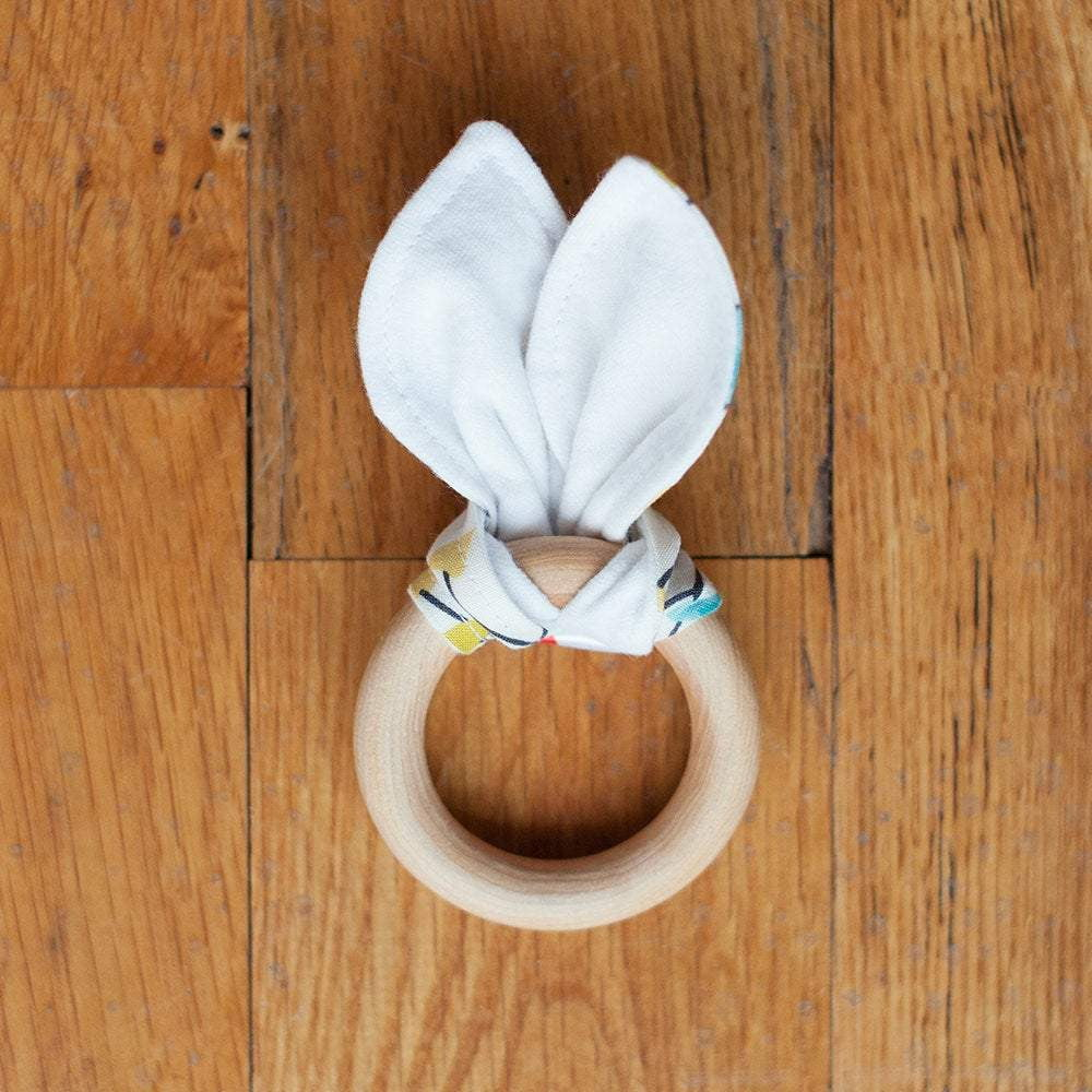 Baby Wood Teething Ring - Sweetpea and Co.