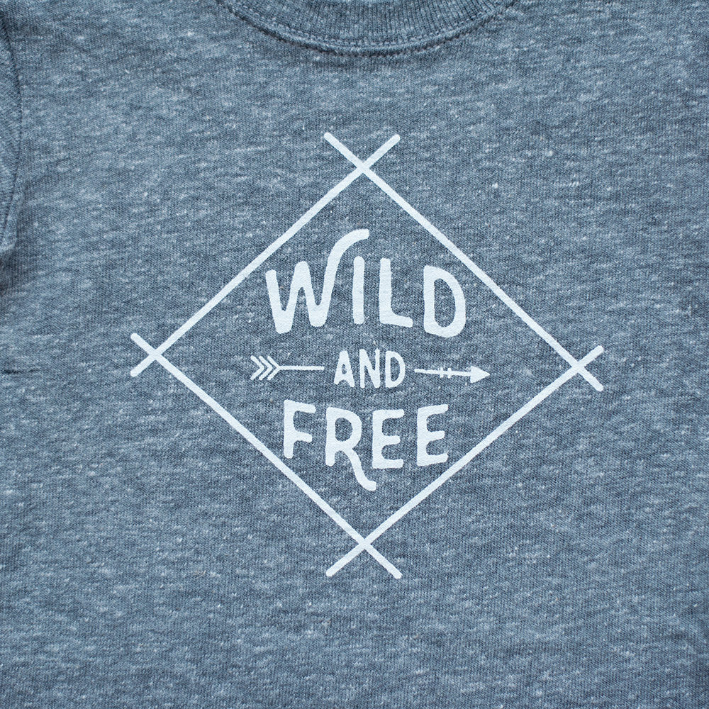 Tri-Blend Wild and Free T-Shirt - Sweetpea and Co.