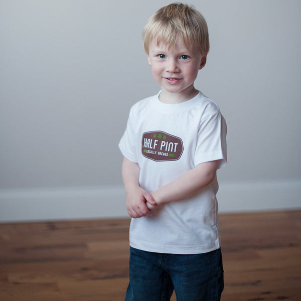 Organic Toddler T-Shirt in Half Pint - Sweetpea and Co.