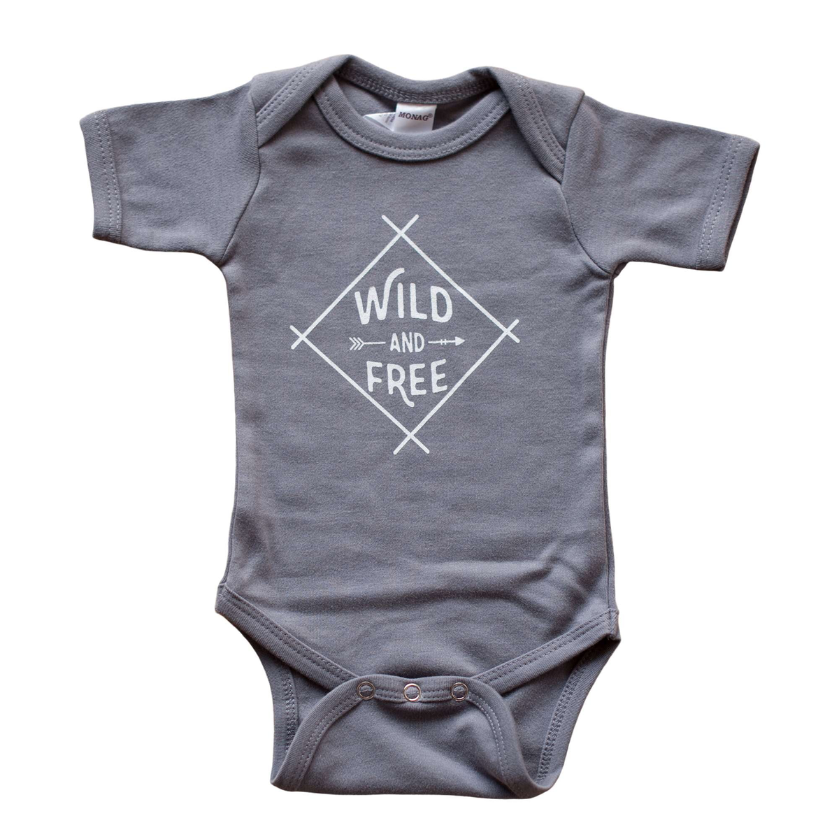 Wild and Free Baby Bodysuit - Sweetpea and Co.
