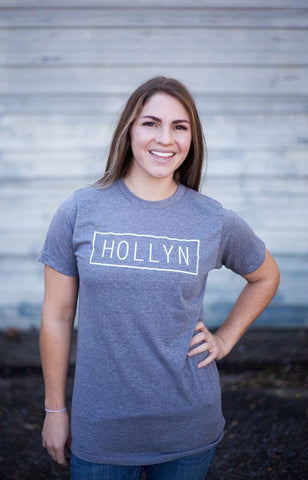 Gray Block Hollyn Tee
