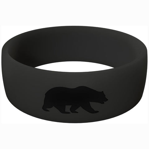 Men's Black Athletic Ring