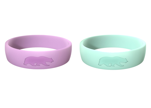 Women's Double Bundle (Lavender & Mint Blue) Athletic Rings