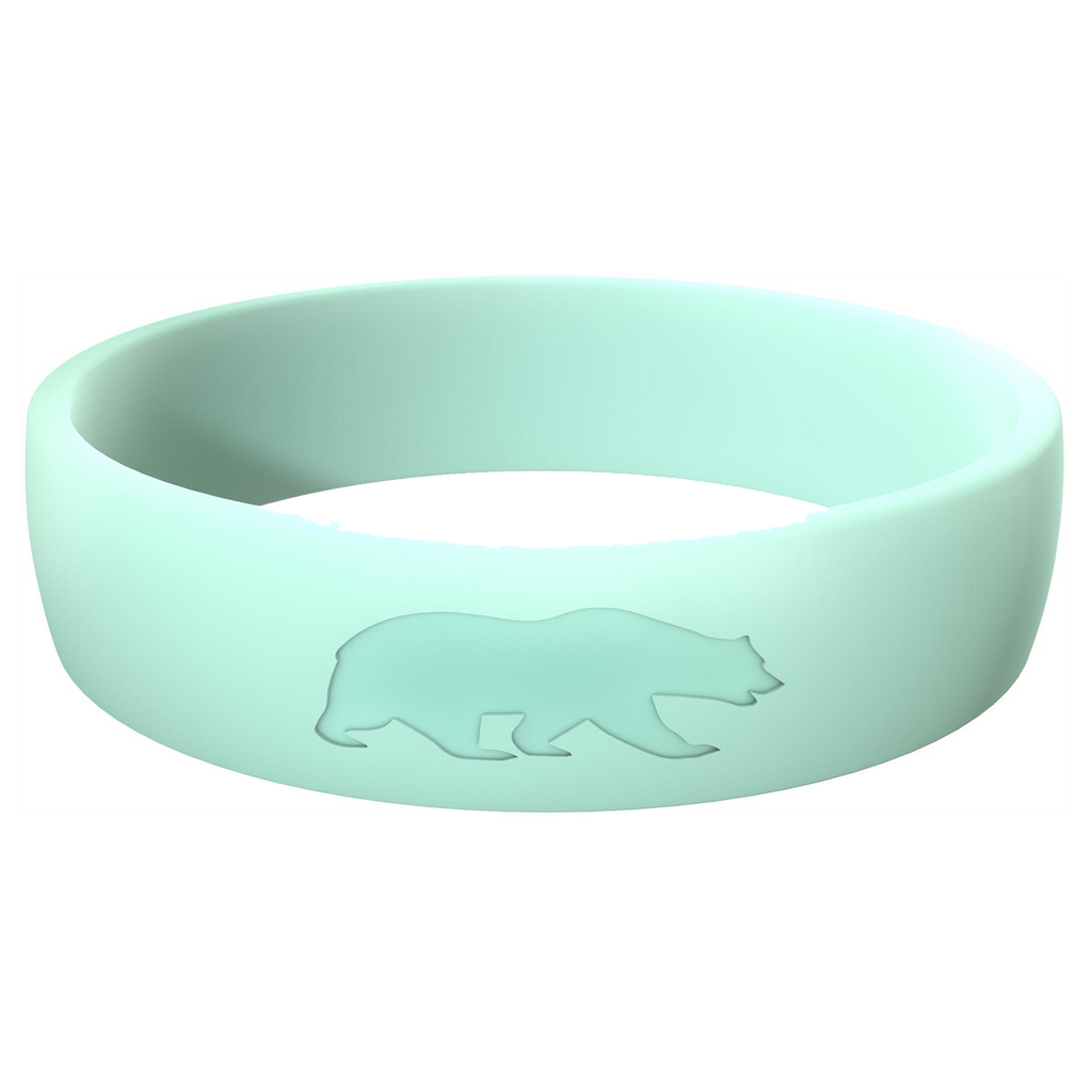 Women's Mint Blue Athletic Ring