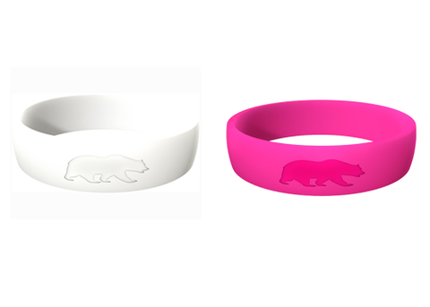 Women's Double Bundle (Pink & White) Athletic Rings
