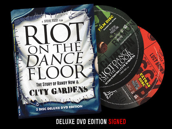 Riot on the Dance Floor - Deluxe Edition DVD [SIGNED by the Director]