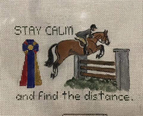 Stay Calm and Find the Distance