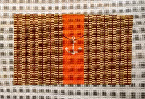 Small Nantucket Clutch with Anchor