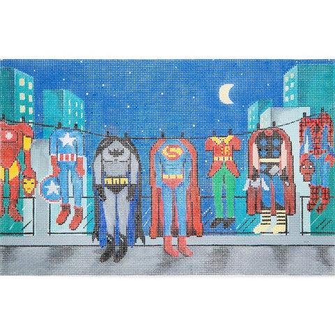 Superheroes Clothes Line