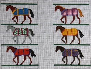 Horse Blankets Eye Glass Case