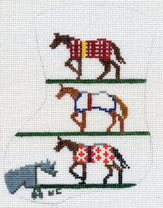 Horse Blanket Mini Stocking