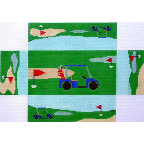 Golf Cart Brick Cover