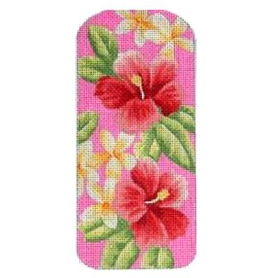 Tropical Pink Eye Glass Case