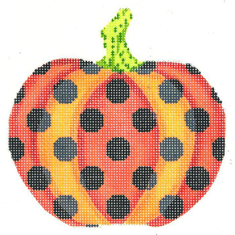Haunted Polka Dot Pumpkin