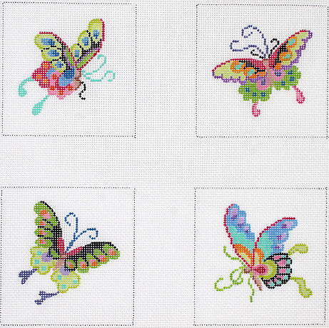 Chinese Butterfly Coasters