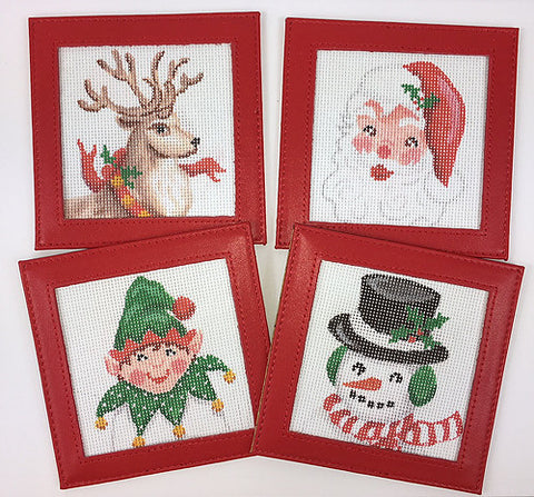 Christmas Characters Coasters