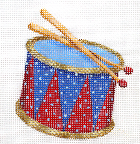 Mini Patriotic Drum