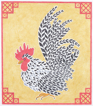 JD Rooster on Gold #2