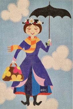 Mary Poppins in Clouds