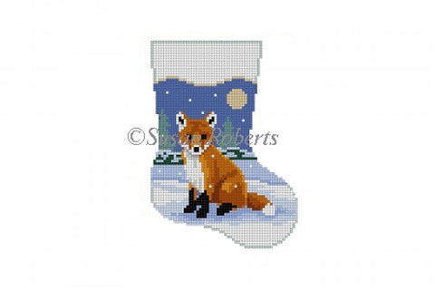 Baby Fox Mini Stocking