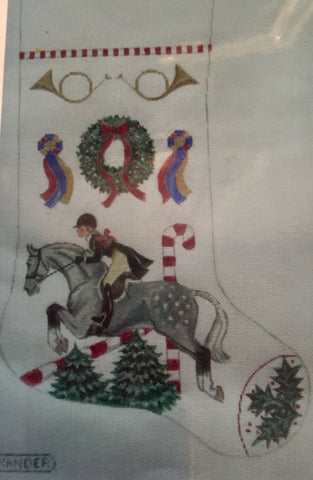 Show Pony Hunter Christmas Stocking