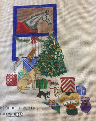 The Barn Christmas Stocking