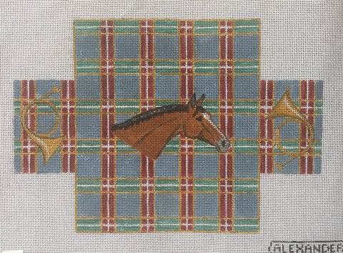 Horsehead Brick Cover/Plaid