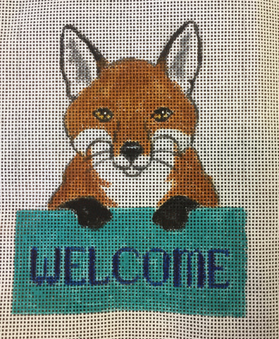 Fox Welcome Sign