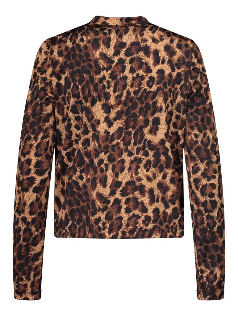 SAMPLE Crew Neck Leopard