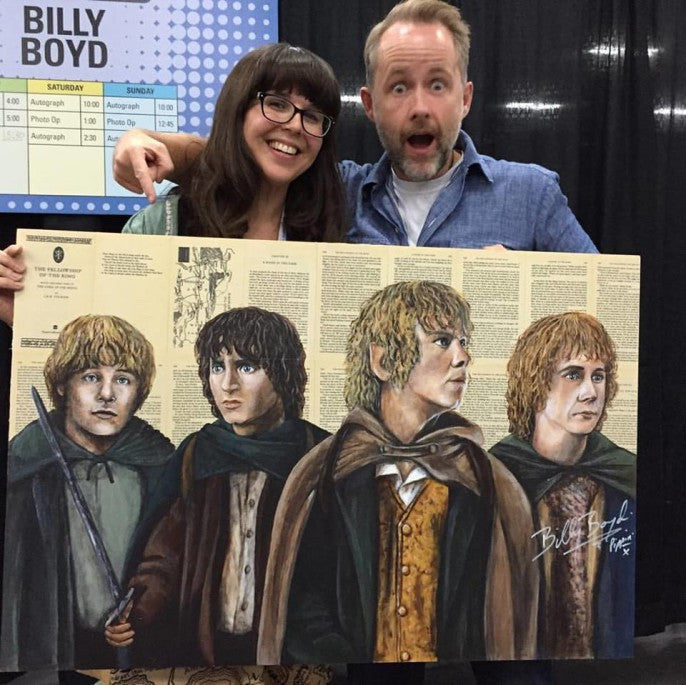 Meeting Billy Boyd!