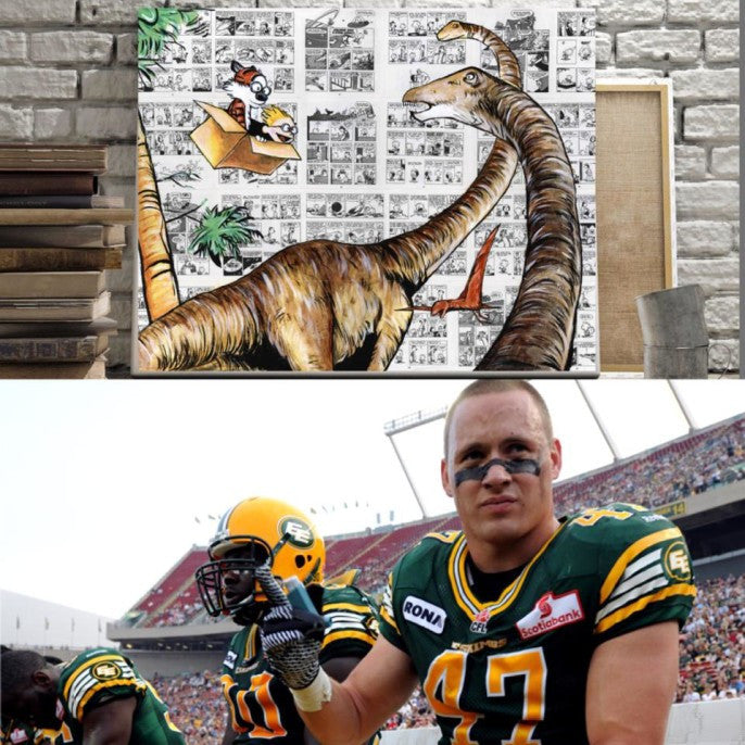 I have a great story for all you Edmonton Eskimo Fans!