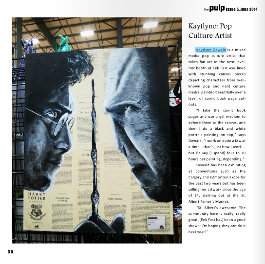 The Pulp: A Magazine for nerds