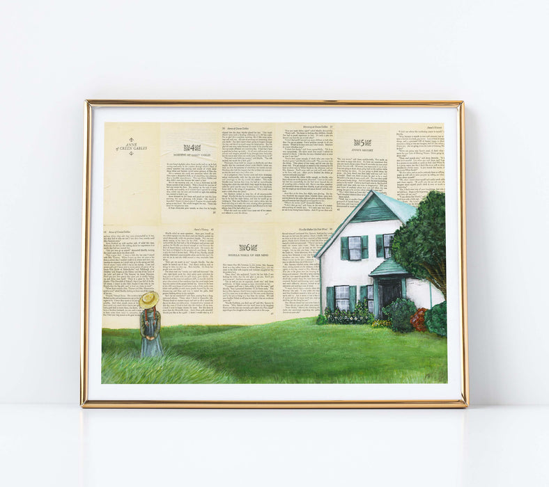 "11"" x 14"" Paper Print of Anne of Green Gables"