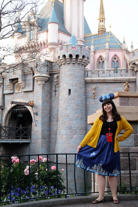 Disney Dreams Come True Skirt with Pockets