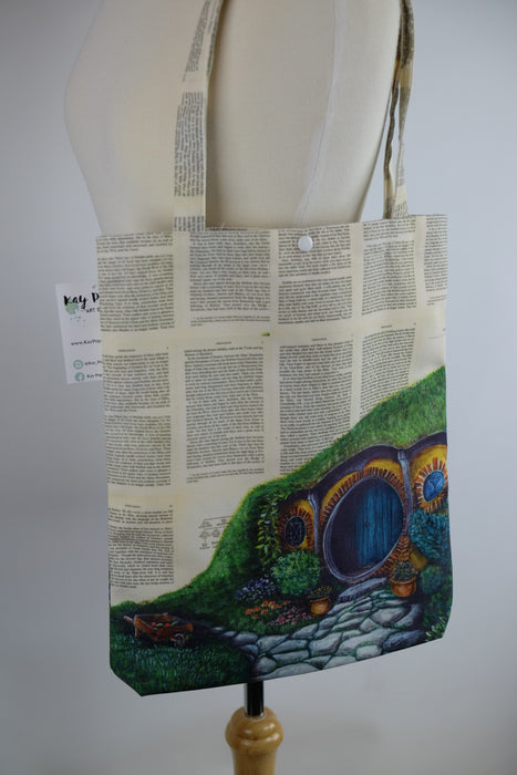 Deluxe Canvas Tote Bag of The Shire