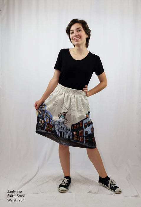 Diagon Alley Skirt with Pockets