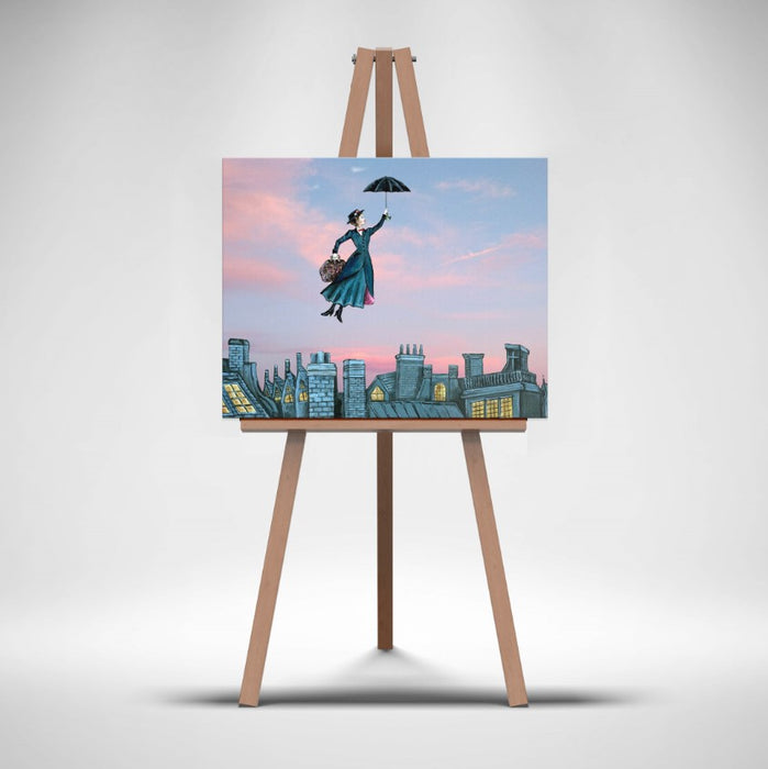 Canvas Print of Mary Poppins