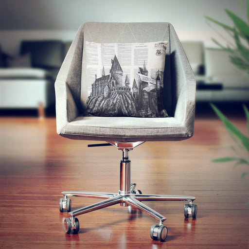 Pillow of Hogwarts School on Harry Potter Book Pages