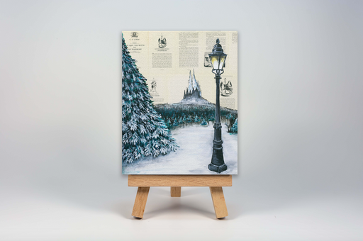 Mini Canvas Print of Chronicles of Narnia
