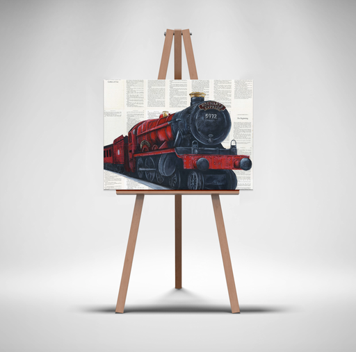 Canvas Print of The Hogwarts Express from Harry Potter