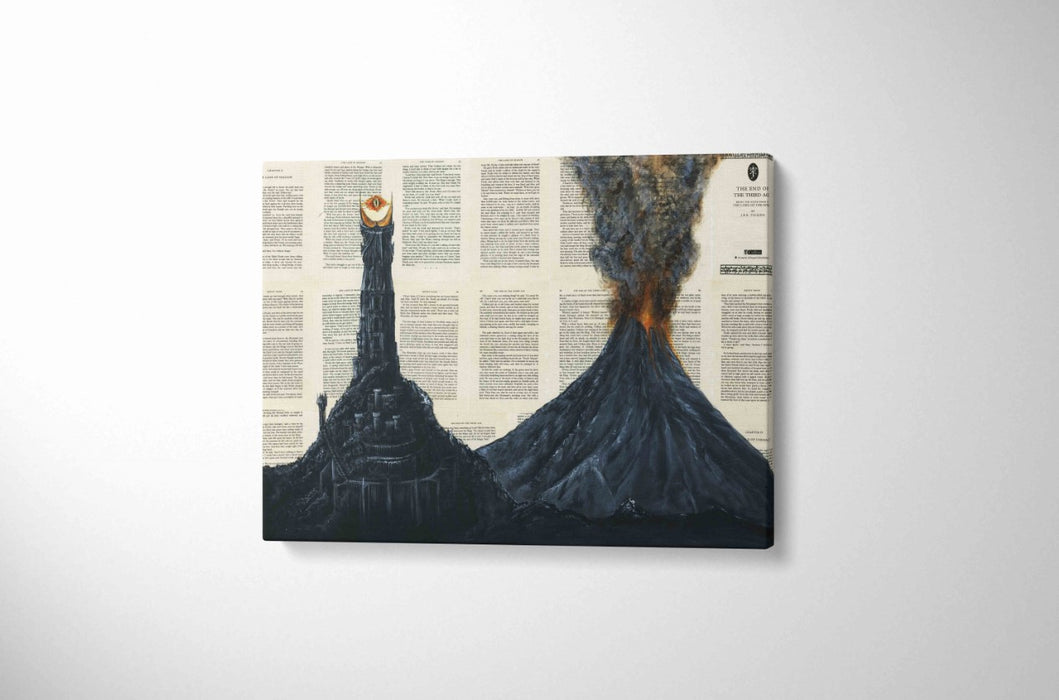 Canvas Print of Mount Doom
