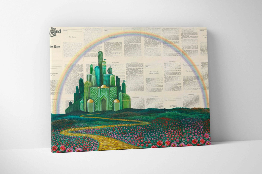 Canvas Print of The Wizard of Oz