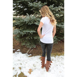 Faux leather leggings,(product_type), (product description) - boutique clothing, peace Love and royalty boutique