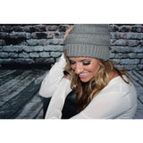 Slouchy knit Beanies,(product_type), (product description) - boutique clothing, peace Love and royalty boutique