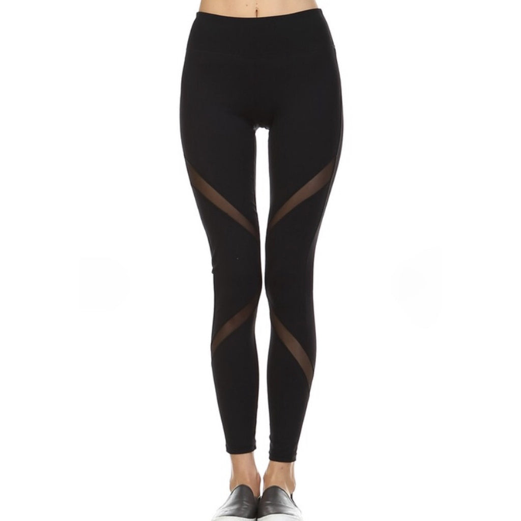 Mesh Wrapped Leggings,(product_type), (product description) - boutique clothing, peace Love and royalty boutique