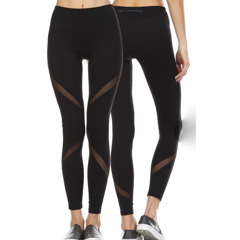 Mesh Wrapped Leggings